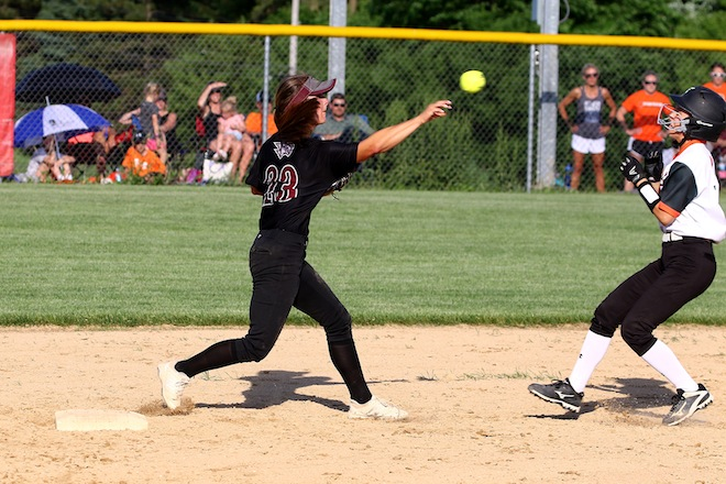 WIAA SECTIONAL SOFTBALL: Burlington douses Central's state hopes