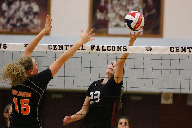 WIAA GIRLS VOLLEYBALL: Demons stop Westosha's state pursuit