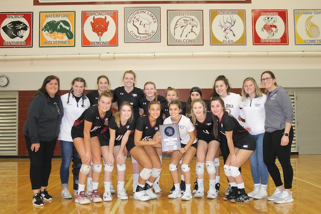 WIAA GIRLS VOLLEYBALL: Westosha Central garners another regional championship