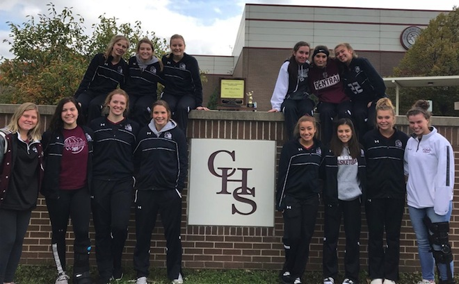 SLC GIRLS VOLLEYBALL: Falcon girls claim share of conference title