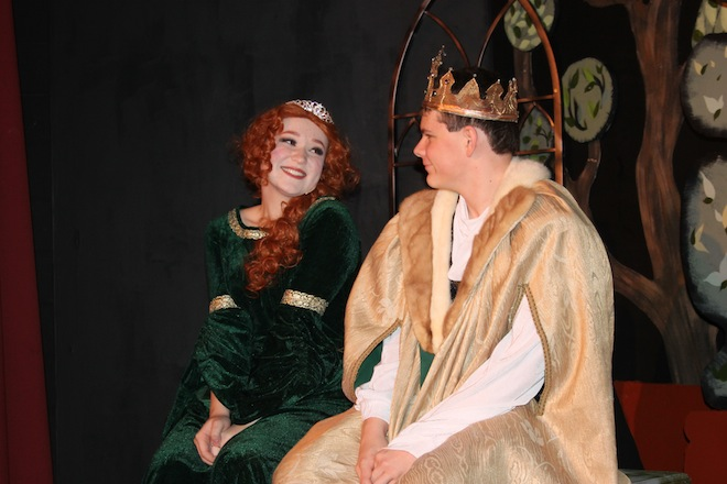 Central to premiere 'Once Upon Mattress'