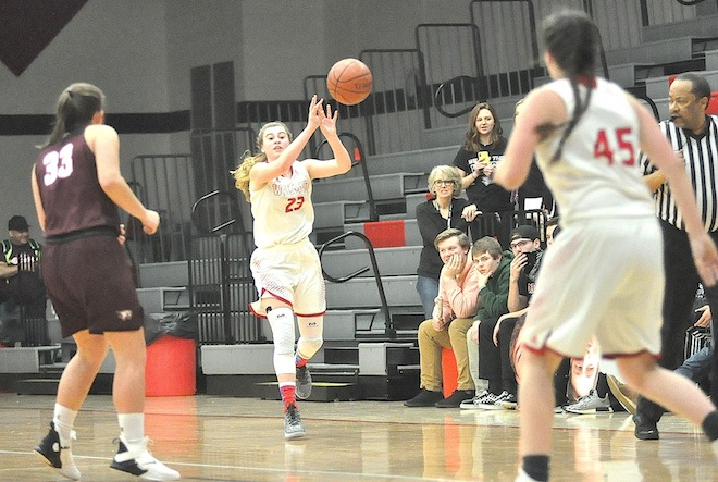 GIRLS BASKETBALL: Panthers pounce on Lady Falcons
