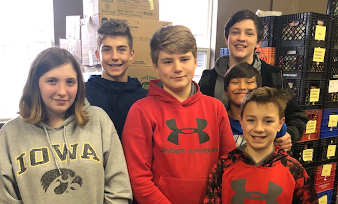 Wheatland students step up for the Sharing Center