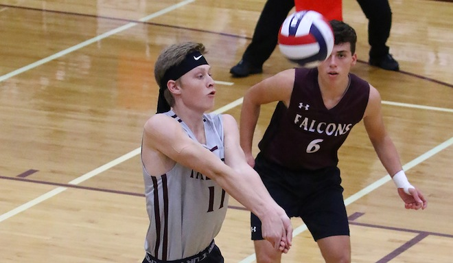 TOP SPORTS STORIES OF 2018 – No. 3: Central boys volleyball stuns top-seeded Muskego