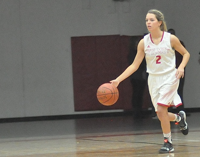 GIRLS BASKETBALL: Wilmot's transition game too much for Elks