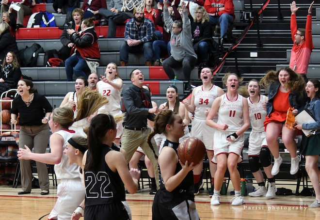 GIRLS BASKETBALL: Lamberson lifts Panthers to win on buzzer-beater