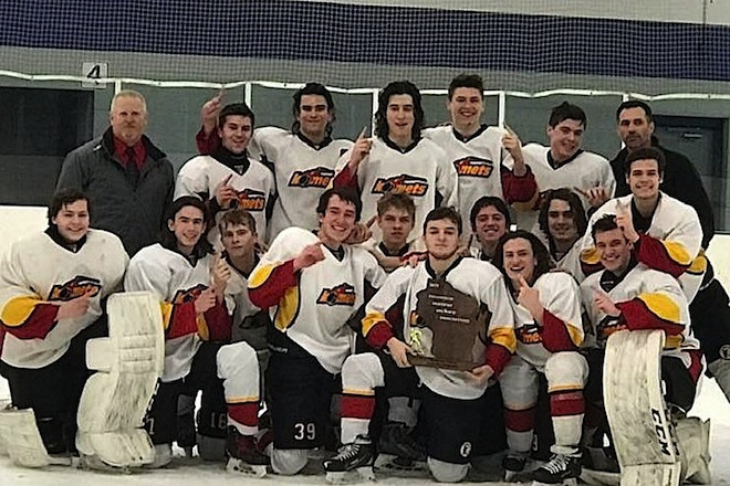 Komets hockey makes program history