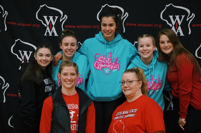 WIAA GYMNASTICS:  Zeller's goal fulfilled at state gymnastics