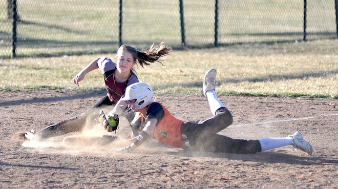 SOFTBALL: Lesson learned