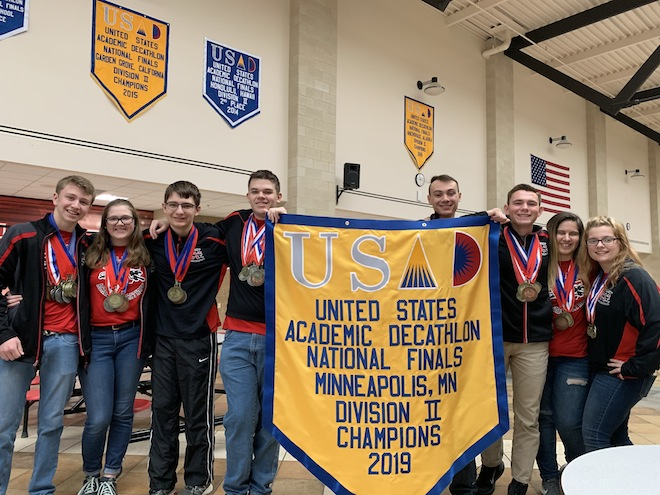 Wilmot snags National Academic Decathlon title