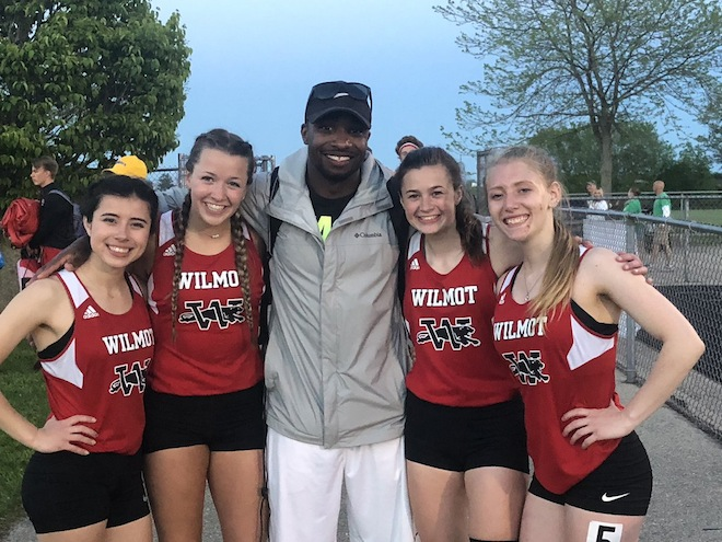 WIAA SECTIONAL TRACK: Panthers send relay team, distance runner to state meet