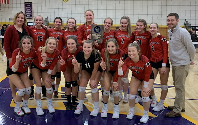 WIAA Volleyball: Panthers prevail in regional title match