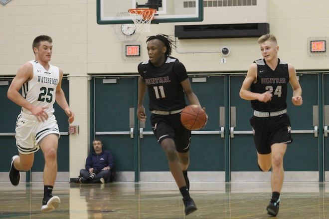 Basketball briefs: Falcons edge Waterford to open slate 3-0