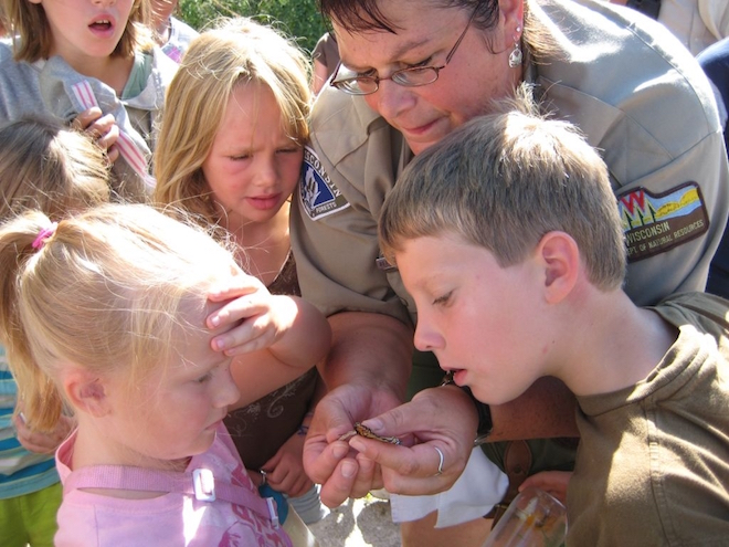 Long-time naturalist retiring from state park