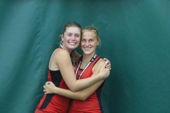 Wilmot tennis duo formed strong bond