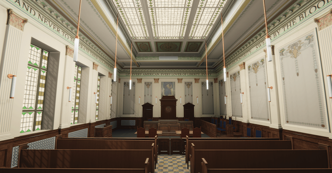 Challenge grant awarded to support Kenosha County's Ceremonial Courtroom restoration